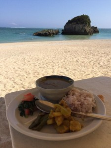 Curry on the beach