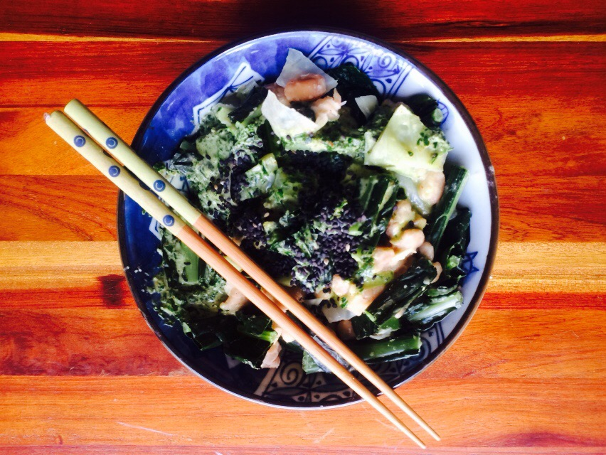 Simple healthy lunch