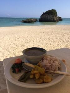 Curry on the beach